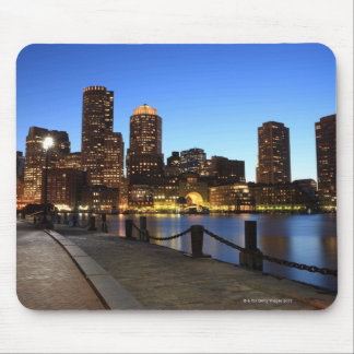 Boston Harbor and skyline.  Boston is one of the 6 Mouse Pads