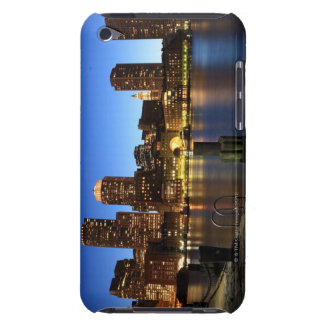 Boston Harbor and skyline.  Boston is one of the 7 iPod Touch Cases