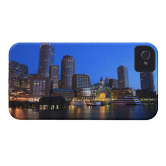 Boston Harbor and skyline.  Boston is one of the 8 Case-Mate iPhone 4 Case
