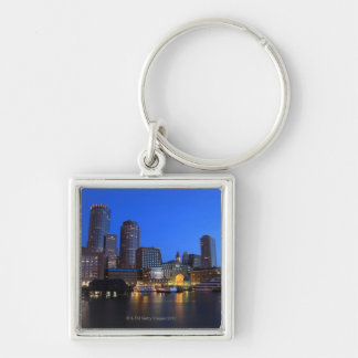 Boston Harbor and skyline.  Boston is one of the 8 Key Ring