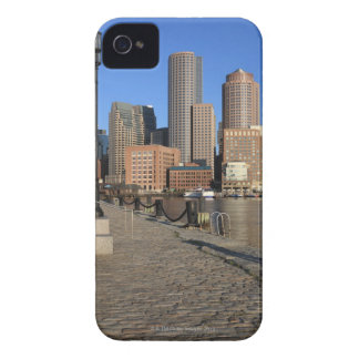 Boston Harbor and skyline.  Boston is one of the iPhone 4 Case-Mate Cases