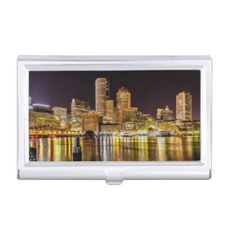 Boston Harbor Business Card Holder