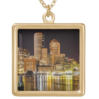Boston Harbor Gold Plated Necklace