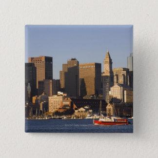 Boston Harbor, Massachusetts 15 Cm Square Badge