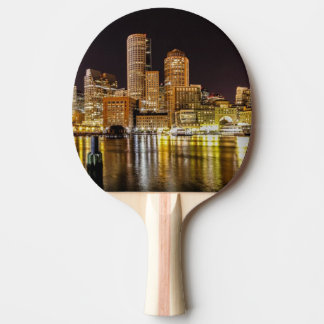 Boston Harbor Ping Pong Paddle