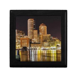 Boston Harbor Small Square Gift Box