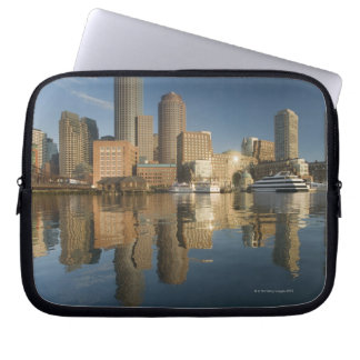 Boston Harbor viewed from Ft Poi Laptop Sleeve