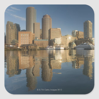 Boston Harbor viewed from Ft Poi Square Sticker