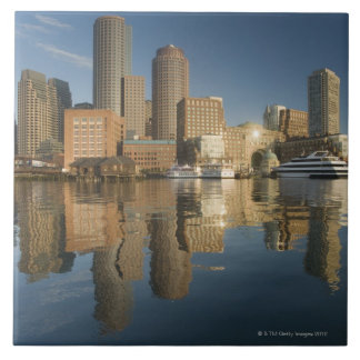Boston Harbor viewed from Ft Poi Tile