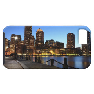 Boston Harbour and skyline.  Boston is one of the  Tough iPhone 5 Case
