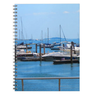 Boston Harbour Boats Sail SailBoats Lake views Notebooks