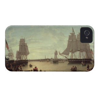 Boston Harbour from Constitution Wharf iPhone 4 Case-Mate Cases