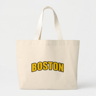 Boston Hockey Fan Gifts Large Tote Bag