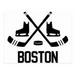 Boston Hockey Post Card