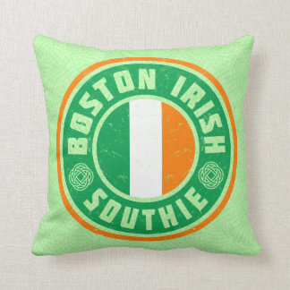Boston Irish American Southie Pillow