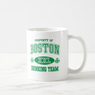 Boston Irish Drinking Team Basic White Mug