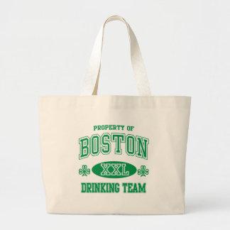 Boston Irish Drinking Team Jumbo Tote Bag
