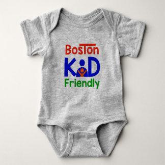 Boston Kid Friendly Baby Bodysuit