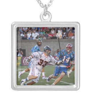 BOSTON, MA - JULY 09:  Ryan Boyle #14 Silver Plated Necklace