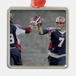 BOSTON, MA - JULY 23:  Paul Rabil #99 and Matt Christmas Ornament