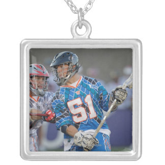 BOSTON, MA - JULY 9:  Mike Kimmel #51 Silver Plated Necklace
