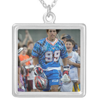 BOSTON, MA - JULY 9:  Paul Rabil #99 Silver Plated Necklace