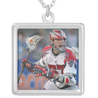 BOSTON, MA - JUNE 04:  John Connolly #57 3 Silver Plated Necklace