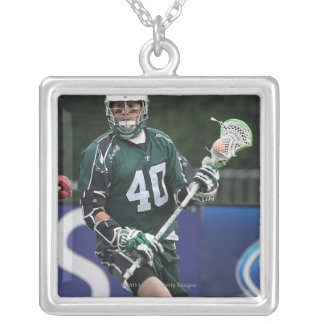 BOSTON, MA - JUNE 11:  Matt Danowski #40 Silver Plated Necklace