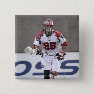 BOSTON, MA - JUNE 11:  Paul Rabil #99 Boston 2 15 Cm Square Badge
