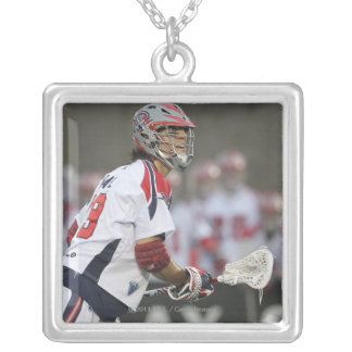 BOSTON, MA - JUNE 11:  Paul Rabil #99 Boston Silver Plated Necklace