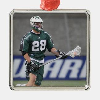 BOSTON, MA - JUNE 11:  Zach Brenneman #28 Silver-Colored Square Decoration