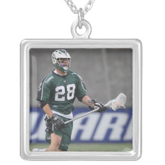 BOSTON, MA - JUNE 11:  Zach Brenneman #28 Silver Plated Necklace