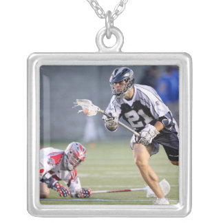 BOSTON, MA - JUNE 4:  Jeff Reynolds #21 2 Silver Plated Necklace