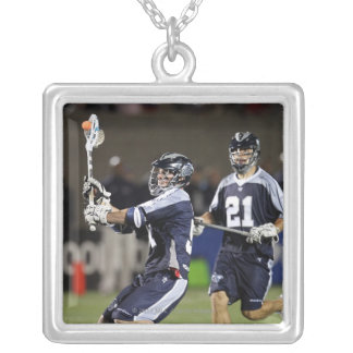 BOSTON, MA - JUNE 4:  Michael Kimmel #51 Silver Plated Necklace