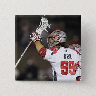 BOSTON, MA - JUNE 4:   Paul Rabil #99 15 Cm Square Badge