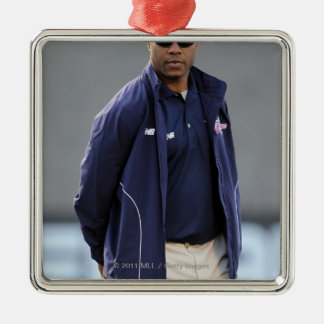 BOSTON, MA - MAY 21:  Coach Bill Daye Christmas Ornament