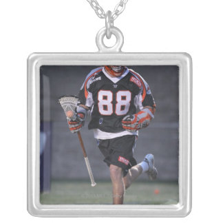 BOSTON, MA - MAY 21:  Connor Martin #88 2 Square Pendant Necklace