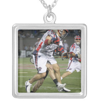 BOSTON, MA - MAY 21:  Jon Hayes #32 Silver Plated Necklace