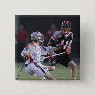 BOSTON, MA - MAY 21: Justin Bokmeyer #11 15 Cm Square Badge
