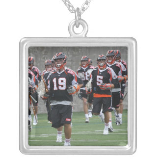 BOSTON, MA - MAY 21:  Members  Denver Silver Plated Necklace