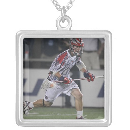 BOSTON, MA - MAY 21:  P.T. Ricci #1 Square Pendant Necklace