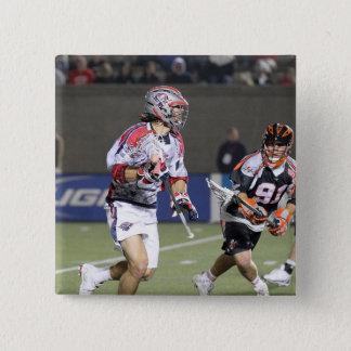 BOSTON, MA - MAY 21: Paul Rabil #99 2 15 Cm Square Badge