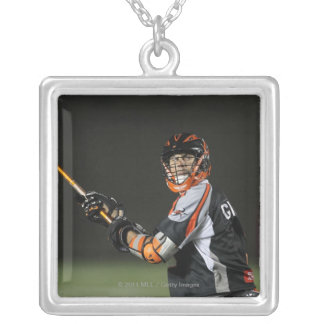 BOSTON, MA - MAY 21:  Steve Giannone #3 2 Square Pendant Necklace