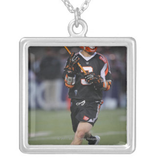 BOSTON, MA - MAY 21:  Steve Giannone #3 Square Pendant Necklace
