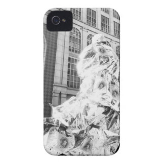 Boston, MA USA, Runner in Foil Boston Marathon iPhone 4 Case
