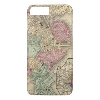Boston Map by Mitchell iPhone 8 Plus/7 Plus Case