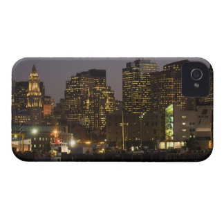 Boston, Masachusetts Skyline iPhone 4 Case-Mate Case
