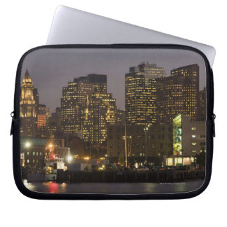 Boston, Masachusetts Skyline Laptop Sleeve