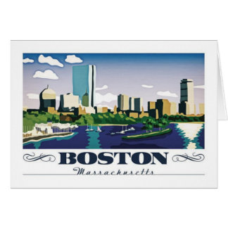 Boston, Massachusetts Card