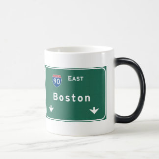 Boston Massachusetts ma Interstate Highway Road : Magic Mug